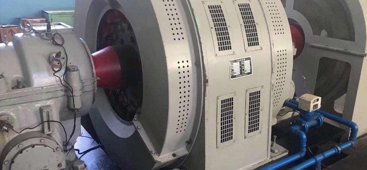 水轮发电机组回收